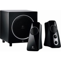 Logitech Z523  -- 2.1 Stereo Speaker System  |40 watts RMS  |Powered by AC outlet