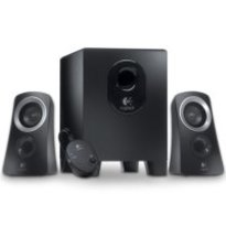 Logitech Z313  -- 2.1 Stereo Speaker System  |25 watts RMS |Powered by AC outlet