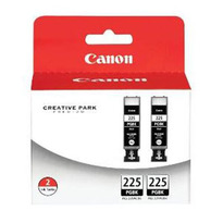 Canon PGI-225 Twin Pack Black Ink Cartridge