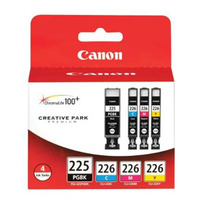Canon CLI-226 Black and Color Ink Cartridge Value Pack