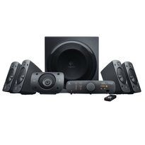 Logitech Z906  -- 5.1 Digital Speaker System  |500 watts RMS |THX Certified |Dolby Digital & DTS |Powered by AC outlet