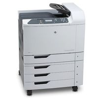 HP LaserJet CP6015XH Colour Laser Printer | 41 PPM Mono, 41 PPM Colour, 1200x600 DPI, Duplex Printing | USB/Ethernet Connectivity, 2100 Sheet Input