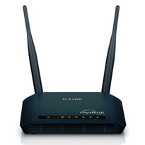 D-Link N300 DIR-605L - Wireless Router | Four 10/100 Fast Ethernet ports