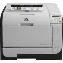HP LaserJet Pro 400 M451dw Wireless Colour Laser Printer | 21 PPM Mono, 21 PPM Colour, 600x600 DPI, 128MB, Duplex Printing | USB/Wireless/Ethernet Connectivity