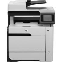 HP LaserJet Pro 300 M375NW Multifunction Colour Laser Printer | 19 PPM Mono, 19 PPM Colour, 600x600 DPI Print | Print, Scan, Copy, Fax, USB/Ethernet/Wi-Fi Connectivity