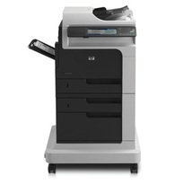 HP LaserJet Enterprise M4555F MultiFunction Monochrome Laser Printer | 52 PPM Mono Print, 1200x1200 DPI, Duplex Printing | Printer, Copier, Scanner, Fax, FIH, USB/Ethernet Connectivity