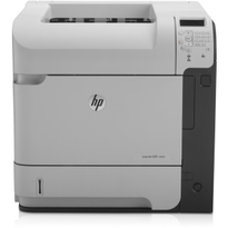 HP LaserJet 600 M602N Monochrome Laser Printer | 52 PPM Mono, 1200x1200 DPI | USB/Gigabit Ethernet Connectivity, 600 Sheet Input