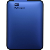 WD My Passport 1TB Portable External Hard Drive Storage  USB 3.0 Blue