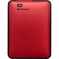WD My Passport 1TB Portable External Hard Drive Storage  USB 3.0 Red