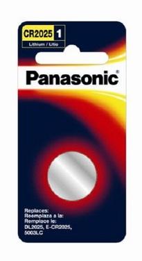 Panasonic CR2025PA1B 3V-lithium batteries