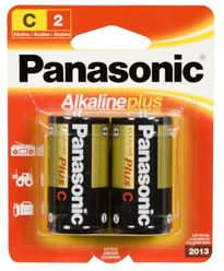 Panasonic Alkaline Plus Battery C-2