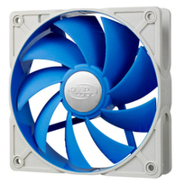 Deepcool DC Fan UF 120 Patented De-vibration fan the rubber fan frame PWM Long life-time two-ball bearing 500�200~1500�10%RPM