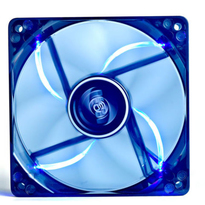 Deepcool DC Fan WIND BLADE 120 Blue LED semitransparent fan frame 120mm 1300�10%RPM