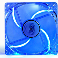 Deepcool DC Fan Xfan 120L/B UV Blue LED Transparent fan frame 120mm 1300RPM