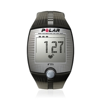 Polar FT1 Heart Rate Monitor Watch - Black 90051025