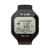 Polar RCX5 GPS Heart Rate Monitor Watch - Black