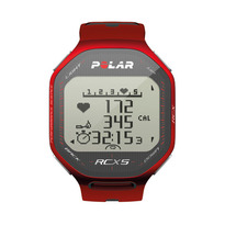 Polar RCX5 GPS Heart Rate Monitor Watch - Red