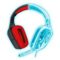 Logitech  G230 Stereo Gaming Headset - Black and Red