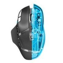 Logitech  G602 Wireless Gaming Mouse - Matte Black and Silver