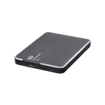 WD My Passport Ultra 2TB Portable External Hard Drive USB 3.0 Titanium