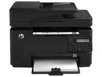 HP LaserJet M127FN Network Multifunction Laser Printer | 21 PPM Mono, 600x600 DPI Print, 1200 DPI Scan, Duplex Print | Print, Scan, Copy, Fax, USB/Ethernet Connectivity