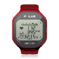 Polar RCX5 Heart Rate Monitor Watch - Red