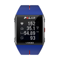 Polar V800 Multisport Training Sports Watch with Heart Rate - Blue / Red