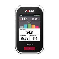 Polar V650 Smartest Cycling Computer with GPS with Heart Rate Sensor - Black