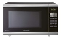 Panasonic NNST661B Mid-Size 1.2 cu. Ft. Genius Inverter Countertop Microwave Oven - Stainless Steel Black  | 1200W