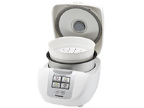 Panasonic SRDF101 1.0 Litre 5 Cup Microcomputer Controlled Rice Cooker with Fuzzy Logic Technology - White  | 750W , One Touch Cooking , 6 Cooking Options , Keep Warm
