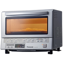Panasonic FlashXpress Toaster Oven with Double Infrared Heating - Silver
