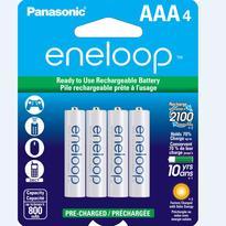 Panasonic Eneloop AAA-4 1.2V Ni-MH 800 mAh BK4MCCA4BA