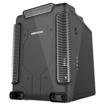 Deepcool Steam Castle Micro ATX Black Gaming Cube Case