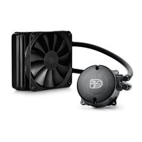 Deepcool Maelstrom 120K Liquid CPU Cooler | 120mm PWM Fan | Intel Socket LGA2011-V3/LGA2011/LGA1366/LGA1156/LGA1155/LGA1150 | AMD FM2+/FM2/FM1/AM3+/AM3/AM2+/AM2