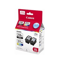 Canon PG-210 XL / CL-211 XL Black and Color Ink Cartridges Value Pack