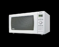 Panasonic NNSD767W Family Size 1.6 cu. Ft. Genius Inverter Countertop  Microwave Oven - White  | 1200W