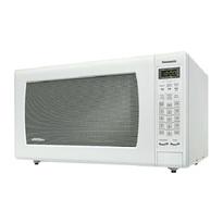 Panasonic NNSN968W Full Size 2.2 cu. Ft. Genius Inverter Countertop Microwave Oven - White  | 1200W
