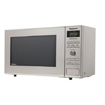 Panasonic NNSD382S Compact Size 0.8 cu. Ft. Countertop Microwave Oven - Stainless Steel  | 950W