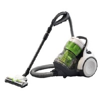 Panasonic MCCL933 Bagless JetForce Canister Vacuum Cleaner - Black & Green  | JetForce Cyclonic Filtration , Dust Compression , 10-Amp Motor , 11
