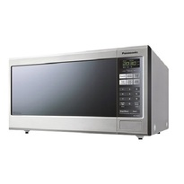 Panasonic NNST681S Mid-Size 1.2 cu. Ft. Genius Inverter Countertop Microwave Oven - Stainless Steel  |1200W