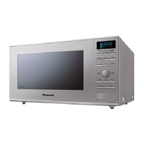 Panasonic NNGD693S Mid-Size 1.1 cu. Ft. Genius Inverter Countertop Microwave Oven w/ Grill Heater - Stainless Steel  |1000W