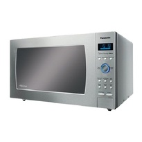Panasonic NNSE992S Full Size 2.2 cu. Ft. Genius Prestige Plus Inverter Countertop Microwave Oven - Stainless Steel  | 1200W
