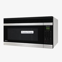 Panasonic NNSA247S 2.0 cu. ft. Auto Cook 180 CFM Over-the-Range OTR Microwave Oven - Stainless Steel  | 1100W