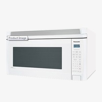 Panasonic NNS255W 2.0 cu. ft. Auto Cook New Chassis Over-the-Range OTR Microwave Oven - White  | 1100W