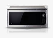 Panasonic NNSE284S 2.0 cu. ft. Genius Prestige Plus Inverter 420 CFM Over-the-Range OTR Microwave Oven - Stainless Steel  | 1100W , Super Quiet , Glass Touch Keypad
