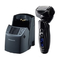 Panasonic ESLA93K Pro-Curve Quadruple Arc Blade Rechargeable Wet / Dry Men's Shaver with LCD Display  - Silver  | 14,000 RPM , 30 Degree Nano-Edge Blades , 45 min use on 1 hour charge , Fully Automatic Self-Cleaning / Charging System , Universal Voltage
