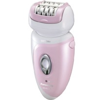 Panasonic ESWD51P Hypo-Allergenic Blade Cordless Rechargeable Wet / Dry Washable Women's Epilator   | 48 Rotating Tweezing Discs , 1 Hour Charge , Li-ion Battery