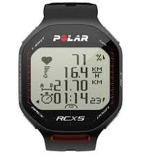 Polar RCX5 Heart Rate Monitor Watch - Black