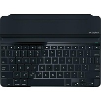 Logitech - Ultrathin Keyboard Cover for Apple� iPad� Air - Space Gray