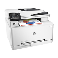 HP Colour LaserJet Pro M277DW Multifunction Colour Laser Printer  | 19 PPM Mono, 19PPM Colour | 600x600 DPI Print | Print, Copy, Scan, Fax, | Hi-Speed USB 2.0/Ethernet/WiFi Connectivity